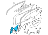 GM Window Regulator - 22702142 and Related Parts