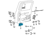 GM Door Handle - 15708045 and Related Parts