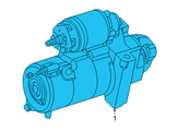 GM Starter - 10465054 and Related Parts