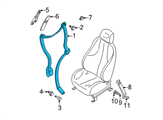 GM Seat Belt - 12532176 and Related Parts