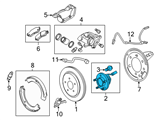 GM Wheel Bearing - 13589509 and Related Parts