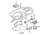 GM Body Control Module - 15785406 and Related Parts