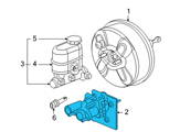 Chevrolet Brake Booster - 15854059 and Related Parts