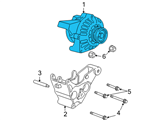 Chevrolet Alternator - 25877026 and Related Parts