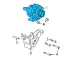 Chevrolet Alternator - 22781131 and Related Parts