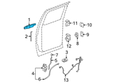 GM Door Handle - 25960522 and Related Parts