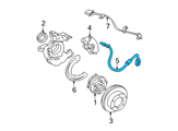 Chevrolet Hydraulic Hose - 22163599 and Related Parts
