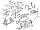 Chevrolet Oil Filter - 19210284 and Related Parts
