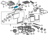 GM A/C Switch - 13590947 and Related Parts