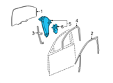 Chevrolet Window Regulator - 22894022 and Related Parts