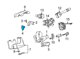 GM Ignition Switch - 23228993 and Related Parts
