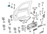 Chevrolet Door Handle - 15742229 and Related Parts
