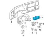 Chevrolet A/C Switch - 15763059 and Related Parts