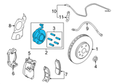 GM Wheel Bearing - 13580685 and Related Parts