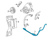Chevrolet Hydraulic Hose - 26050743 and Related Parts