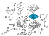 GM Air Filter - 13272719 and Related Parts