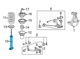 Chevrolet Shock Absorber - 19300036 and Related Parts
