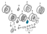 GM Wheel Cover - 9597991 and Related Parts
