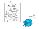 Chevrolet Brake Booster - 15236237 and Related Parts