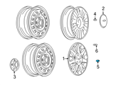 Chevrolet Wheel Cover - 22582699 and Related Parts