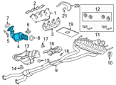 GM Catalytic Converter - 22940825 and Related Parts