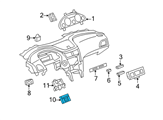 GM Body Control Module - 22860591 and Related Parts