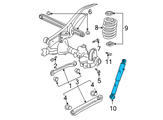 GM Shock Absorber - 19300046 and Related Parts