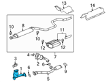 GM Catalytic Converter - 25808583 and Related Parts