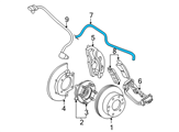 Chevrolet Hydraulic Hose - 19331537 and Related Parts