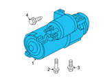 GM Starter - 12597349 and Related Parts