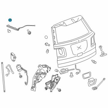 gm 11609302 genuine gm position sensor nut Buick Enclave OEM Parts