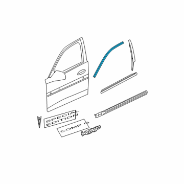 pontiac 15886301 genuine pontiac reveal molding | 99 Grand Prix Engine Diagram |  |