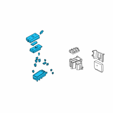 gm 15334629 genuine gm fuse relay box. Black Bedroom Furniture Sets. Home Design Ideas