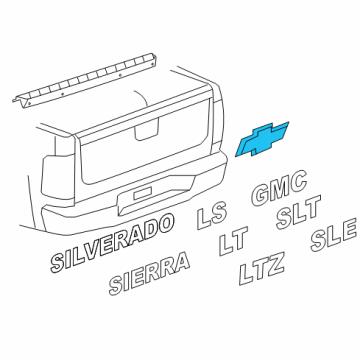 Genuine GM Parts 15925503 Plate