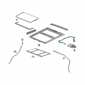 gm 25965616 genuine gm harness asm sun roof wiring. Black Bedroom Furniture Sets. Home Design Ideas