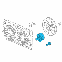 Chevrolet Monte Carlo Fan Motor - 89018695 and Related Parts