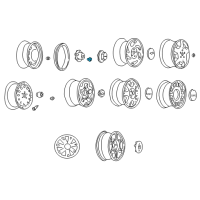 Chevrolet Blazer Wheel Cover - 15661036 and Related Parts
