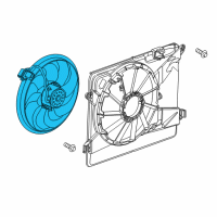 Buick Encore Fan Motor - 95382426 and Related Parts