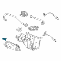 Cadillac ELR Vapor Pressure Sensor - 13574913 and Related Parts