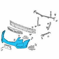 GM Bumper - 84145753 and Related Parts