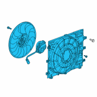 GMC Radiator fan - 84221606 and Related Parts
