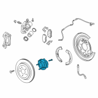Cadillac Wheel Bearing - 13580135 and Related Parts