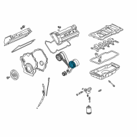 GM Crankshaft Gear - 12556026 and Related Parts