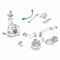 Chevrolet Oxygen Sensor - 55572215 and Related Parts