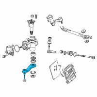 GM Pitman Arm - 23445899 and Related Parts