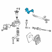 GM Idler Arm - 84068279 and Related Parts