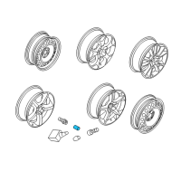Saturn Wheel Cover - 90343694 and Related Parts