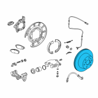 GMC Brake Disc - 23195438 and Related Parts