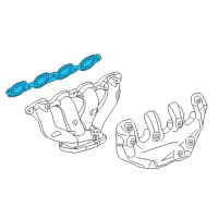 GM Exhaust Manifold Gasket - 12657093 and Related Parts