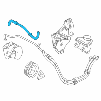 Saturn Power Steering Hose - 90539619 and Related Parts